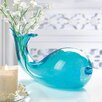 Zingz & Thingz Art Glass Whale Vase