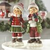 Zingz & Thingz Holly and Noel Holiday Figurines