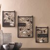 Zingz & Thingz Live Love Laugh 3 Piece Wall Décor Set