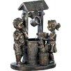 Zingz & Thingz Wishing Well Fiberglass Fountain