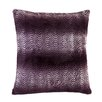 Zingz & Thingz Orchid Ombre Fur Thow Pillow