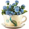 Dolomite Pot Planter with Saucer - Zingz & Thingz Planters