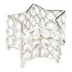 Zingz & Thingz Iron and Crystal Star Tealight
