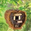 Love Shack 5 inch x 3.5 inch x 5 inch Birdhouse - Zingz & Thingz Birdhouses