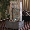 Acrylic Cascading Water Tabletop Polyresin Fountain with Light - Zingz & Thingz Indoor and Outdoor Fountains