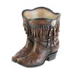Fringed Cowboy Boot Polyresin Pot Planter - Zingz & Thingz Planters