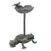 Leap Frog Birdbath - Zingz & Thingz Bird Baths