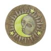Sun and Moon Glowing Stepping Stone - Zingz & Thingz Garden Statues and Outdoor Accents