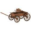 Zingz & Thingz Novelty Buckboard Wheelbarrow Planter