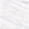 "Faber Calacatta High Definition 12"" x 12"" Porcelain Matte Tile in White"