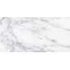 "Faber Calacatta High Definition 24"" x 12"" Porcelain Matte Tile in White"