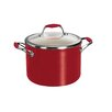 Tramontina Gourmet Ceramica Deluxe 6 Qt. Stock Pot with Lid