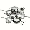 Tramontina Gourmet Domus 13 Piece Stainless Steel Cookware Set