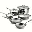 Tramontina Gourmet Prima 10 Piece Stainless Steel Cookware Set