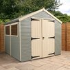 Mercia Garden Products 8 x 10 Wooden Storage Shed