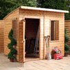Mercia Garden Products 6 Ft. W x 8 Ft. D Wood Storage Shed