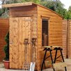 Mercia Garden Products 4 x 7 Wooden Storage Shed