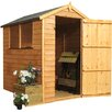 Mercia Garden Products 6 x 4 Overlap Apex Shed