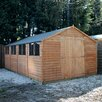 Mercia Garden Products 20 x 10 Overlap Apex Shed