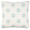 Hen Feathers Epic Preppy Wallace Sky Welt Down Throw Pillow