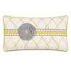 Hen Feathers Epic Sunshine Terrace Rosette Down Throw Pillow
