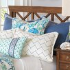 Hen Feathers Olympia Azure Button Tufted Comforter