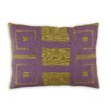 Vanderbloom Zamora Greek Key Linen/Cotton Lumbar Pillow