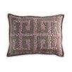 Vanderbloom La Muela Greek Key Linen/Cotton Lumbar Pillow