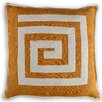 Vanderbloom Hirson Greek Key Linen/Cotton Throw Pillow