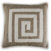 Vanderbloom Maubeuge Greek Key Linen/Cotton Throw Pillow