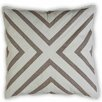 Vanderbloom Chevron Linen/Cotton Throw Pillow