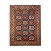 Ornate Carpets Kazak Red/Beige Area Rug