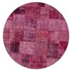 Ornate Carpets Carpet Patchwork Handmade Pink Area Rug