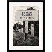 Melissa Van Hise Texas City Limits Framed Photographic Print