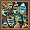 Melissa Van Hise Boat Pods Framed Graphic Art