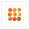 Melissa Van Hise Colorsphere II Framed Painting Print