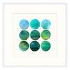 Melissa Van Hise Colorsphere IV by Choate Framed Graphic Art