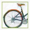 Melissa Van Hise Bicycle Diptych II Framed Graphic Art