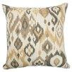 The Pillow Collection Odayle Ikat Cotton Throw Pillow
