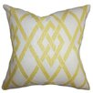 The Pillow Collection Abioye Geometric Throw Pillow