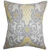 The Pillow Collection Petrini Floral Cotton Throw Pillow