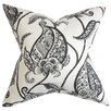 The Pillow Collection Fenella Floral Throw Pillow