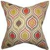 The Pillow Collection Xylon Geometric Cotton Throw Pillow