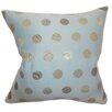 The Pillow Collection Calynda Dots Throw Pillow