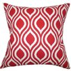 The Pillow Collection Poplar Geometric Cotton Throw Pillow