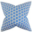 The Pillow Collection Destry Geometric Cotton Throw Pillow