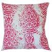 The Pillow Collection Yordana Ikat Cotton Throw Pillow