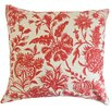 The Pillow Collection Bionda Floral Throw Pillow Cover