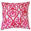 The Pillow Collection Secia Geometric Cotton Throw Pillow Cover