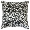 The Pillow Collection Olesia Animal Print Cotton Throw Pillow